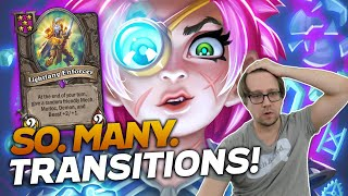 Making All The Transitions! ft. Sjow | Hearthstone Battlegrounds | Savjz