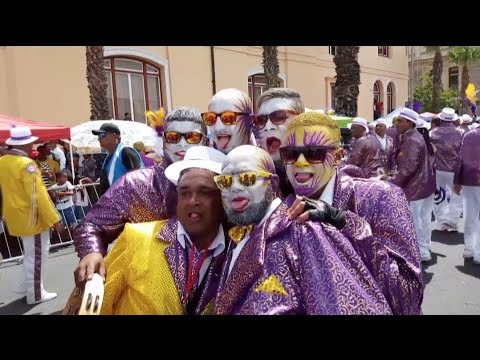 Minstrels Parade to Celebrate New Year in Cape Town