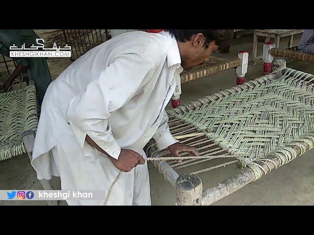 Paya Gul Jameel Bonrr Cot Bed Charpai