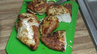 (327) Air Frying Large Frozen Chicken Breast
