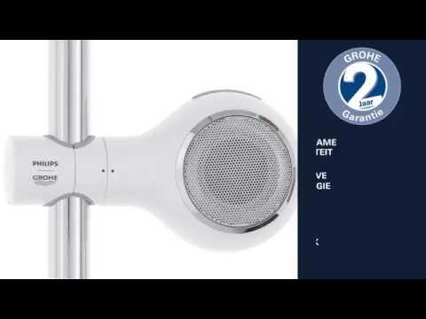 Grohe Aquatunes bluetooth speaker voor glijstang