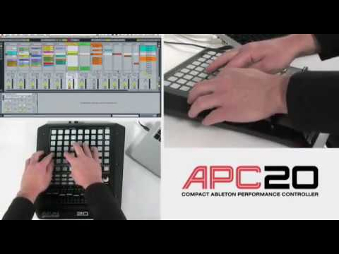 Akai Pro APC20 Ableton Controller: Note Mode Tutorial