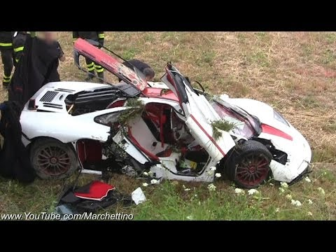 McLaren F1 Flips Over Aftermath CRASH - Marchettino -  28 maggio 2014