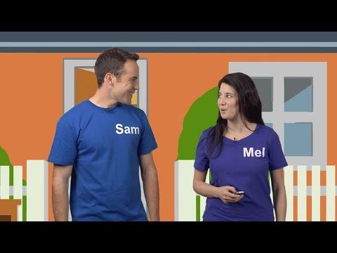 Lesson 1 - Sam and Mel English for Children