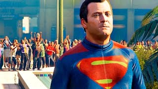 Batman V Superman Dawn Of Justice Trailer Recreated In GTA 5