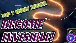 7 Top Vision And Pathing Tricks To Remain Invisible To The Enemy