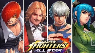 The KING of FIGHTERS: ALL STAR - All SupeR Moves!