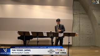 Yuki YOSHIO plays Worksong by C. Lauba #adolphesax