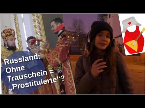 """Russland: Ohne Trauschein = """"Prostituierte""""? [Video]"""