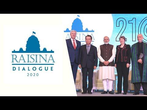 Inaugural Session of Raisina Dialogue 2020