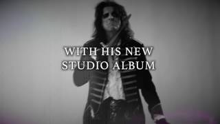 """Alice Cooper - The new album """"Paranormal"""" - out July 28th, 2017!"""