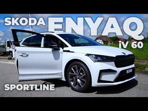 New Skoda Enyaq iV 60 Sportline 2021