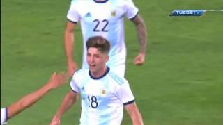 Reporte Mexico Vs Argentina Sub 22