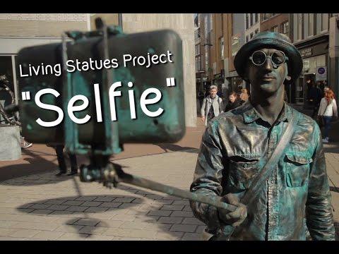 Відео Міми, живі статуї  5