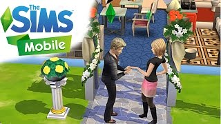 THE SIMS MOBILE - Welcome To Marriage Party ( iOS / Android ) Gameplay