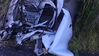 Дтп 13.07.17 США машину разорвало пополам
