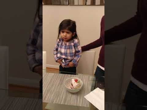 My 2 year old daughter needs us to sing happy birthday anytime we eat cake