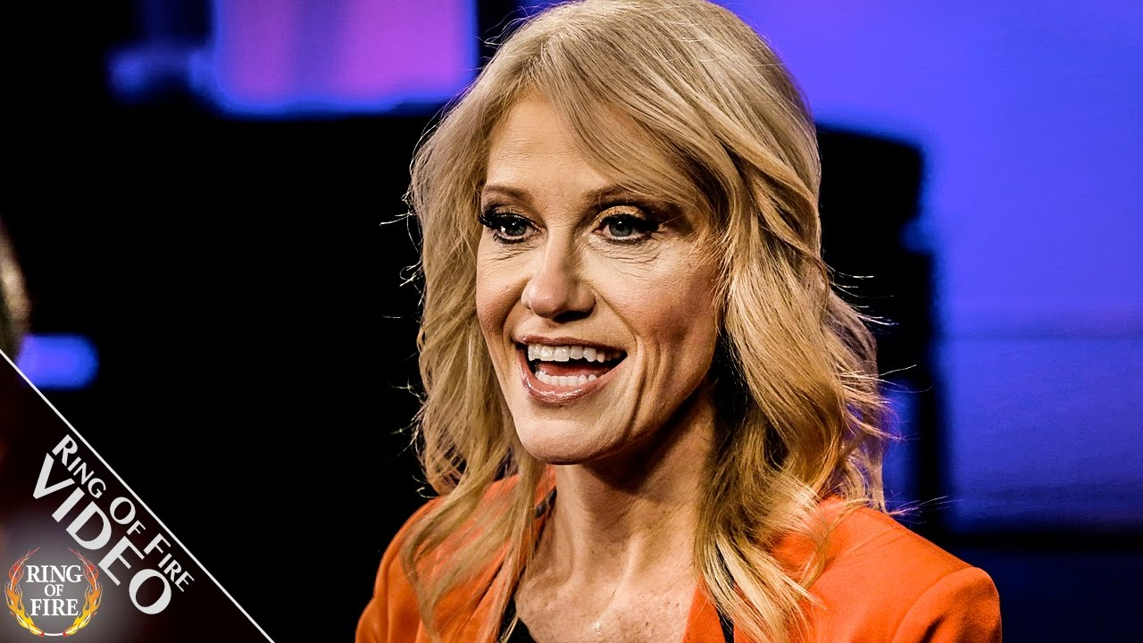 """Kellyanne Conway: My Critics Are """"Unhappy People With Poison Keyboards"""" thumbnail"""