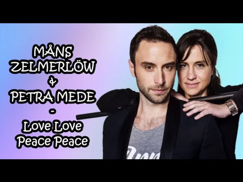 Måns Zelmerlöw & Petra Mede - Love Love Peace Peace (Eurovision 2016 Interval Act - Lyrics Video)