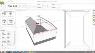 Creating of the mansard roof (part 1) in pCon.planner 7.2