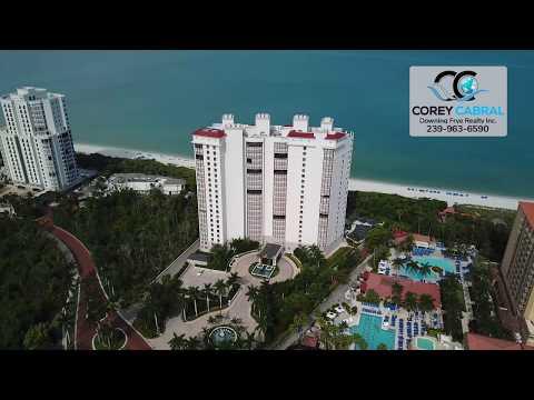 Bay Colony Remington Naples Florida 360 degree video fly over