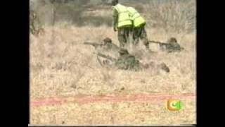 preview picture of video 'Kenya Army March and Shoot Exercise part1'