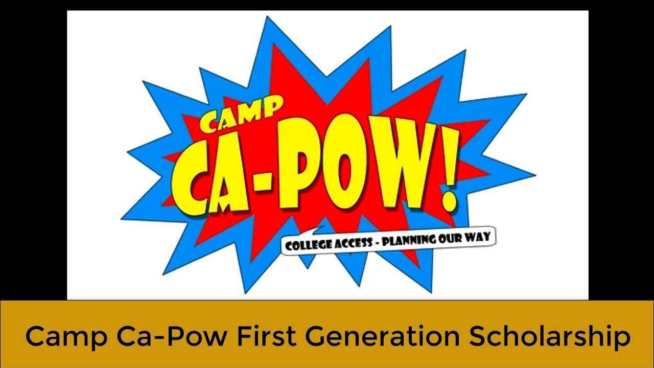 Camp Ca-Pow scholarship