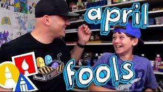 Happy April Fools Bloopers!