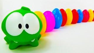 Ам Ням и Яйца с сюрпризами. Игрушки. Конфеты. Диско.