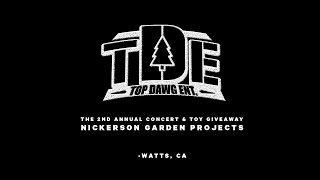2nd Annual Top Dawg Entertainment Concert + Toy Giveaway (Watts, CA)