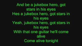 Jukebox Hero with lyrics!