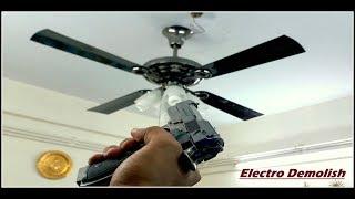 Ceiling Fan Falling Down Part 7 😨 Domestic Ceiling Fan