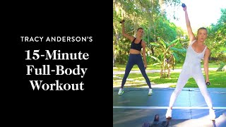 Tracy Anderson's 15-Minute Full-Body Workout | Goop
