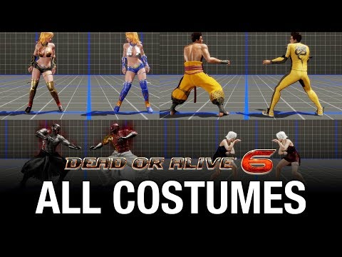 Dead or Alive 6 All Costumes / Outfits / Skins In-Game