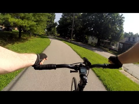 Test Ride Origin8 Pro Lite Bar Ends Commute Bike Blogger