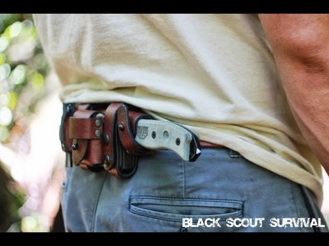 Black Scout Reviews - Hedgehog Leatherworks ESEE-5 Sheath Mp3