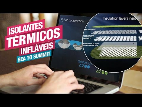 Vídeo - Isolante Térmico Sea to Summit Comfort Light Insulated Mat