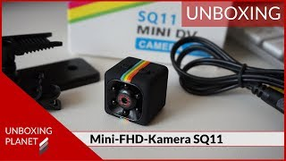 Mini-FHD-Kamera SQ11 mit Nachtsicht Unboxing - Unboxing Planet