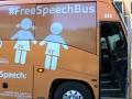 Anti-transgender bus sparks protests