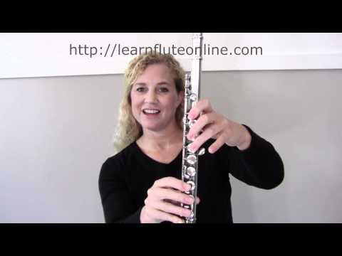 Learn Flute Online: Play B, A, G -Module 04 Online Flute Lessons