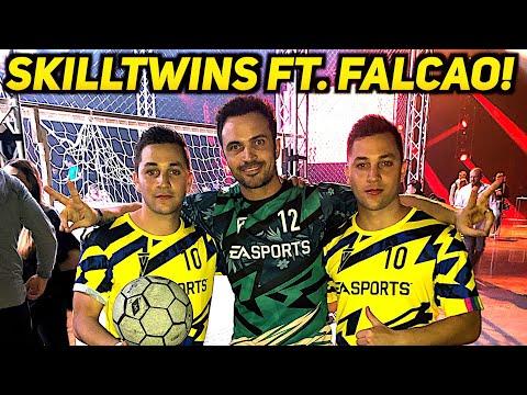 """SkillTwins ft. Falcao! 😱 Vlog Documentary: The Journey Of Winning """"Best Skiller Awards"""" ft. Kaká 🔥"""
