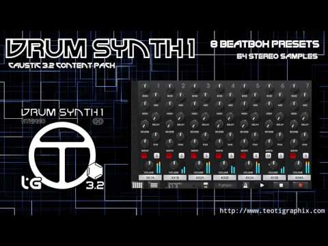Caustic 3.2 Drum Synth Pack 1