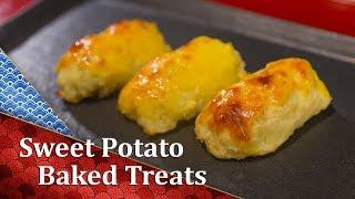 Sweet Potato Baked Dessert  - スイートポテト - A Cooking Japanese Recipe