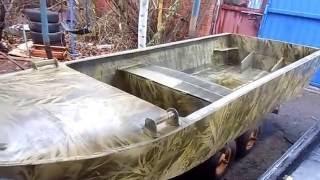 Пластиковый лодки с мотором