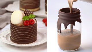 10 Chocolate Decoration Ideas To Impress Your Guests | Chocolate Dessert Hacks Recipes