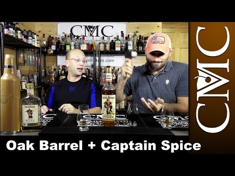 Captain Morgan Spiced Rum, Oak Bottle Aging