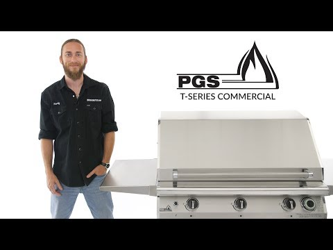 PGS T-Series Commercial Gas Grill Overview | BBQGuys.com