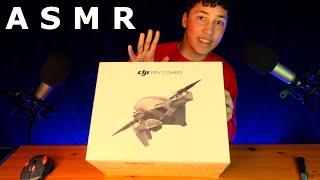 ASMR DJI FPV Drohne Unboxen! [deutsch]