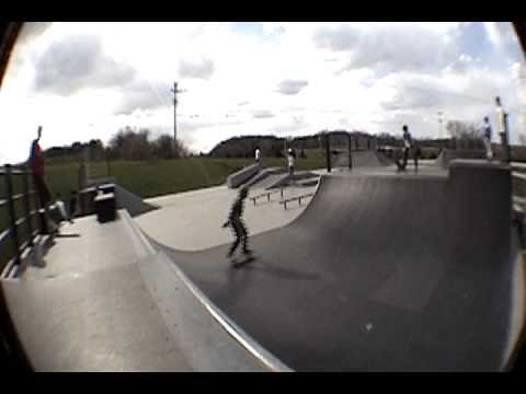 Waukesha County Skate Park Footage