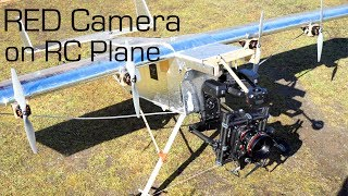 RED 8K Camera + Huge R/C Cargo Plane - RCTESTFLIGHT